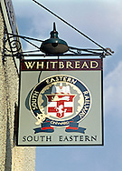 Pub Signs, The South Eastern,  Tonbridge, Kent, Britain