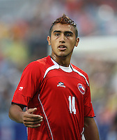 Fussball International U 20 WM Halbfinale Chile 0-3 Argentinien Arturo Vidal (CHI)