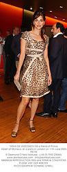 TASHA DE VASCONCELOS a friend of Prince Albert of Monaco, at a party in London on 11th June 2003.PKI 94