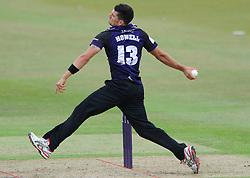 Benny Howell of Gloucestershire - Photo mandatory by-line: Dougie Allward/JMP - Mobile: 07966 386802 - 12/07/2015 - SPORT - Cricket - Cheltenham - Cheltenham College - Natwest Blast T20