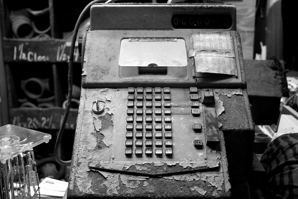 Antique Cash Register, Apalachicola, FL
