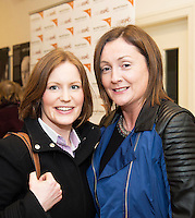 World Vision Ireland  held an exclusive screening of the critically acclaimed feature length movie Girl Rising in An Taibhdhearc, Middle Street, Galway. <br /> At the event were Donna Hallinan and Geraldine Arkins, Galway.<br /> Girl Rising is a critically and internationally acclaimed feature film - narrated by Meryl Streep, Liam Neeson, Anne Hathaway and others - about the strength of the human spirit and the power of education.<br /> <br /> Photo:Andrew Downes