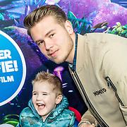 NLD/Amsterdam/20170318 - première De Smurfen en het Verloren Dorp, Dave Dekker