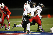 Bishop Lynch running back Jerek Broussard carries the ball during the TAPPS Division I state championship game on Saturday, Dec. 3, 2016 at Panther Stadium in Hewitt, Texas. Bishop Lynch High School won 21-17. (Photo by Kevin Bartram)