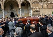 I funerali dell'avvocato Enzo Fragalà