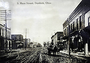 Historical photos of Dunkirk..Dunkirk is a small farming town in central Ohio, a swing state. This town of some 900 people, which leans 60-40 to the Republicans, faces many of the same issues that confront the rest of America; a struggling economy during a time of economic and social change and uncertainty.