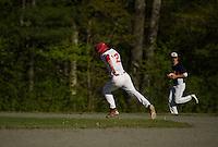 St Paul's School Varsity Baseball with Milton.    ©2016 Karen Bobotas Photographer
