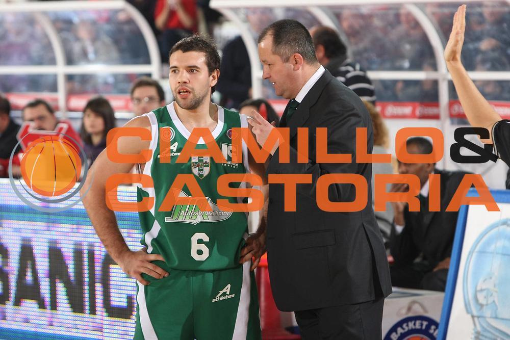 DESCRIZIONE : Teramo Lega A1 2008-09 Bancatercas Teramo Air Avellino<br /> GIOCATORE : Antonio Porta Zare Markovski<br /> SQUADRA : Air Avellino<br /> EVENTO : Campionato Lega A1 2008-2009<br /> GARA : Bancatercas Teramo Air Avellino <br /> DATA : 28/12/2008<br /> CATEGORIA : Ritratto <br /> SPORT : Pallacanestro<br /> AUTORE : Agenzia Ciamillo-Castoria/C.De Massis