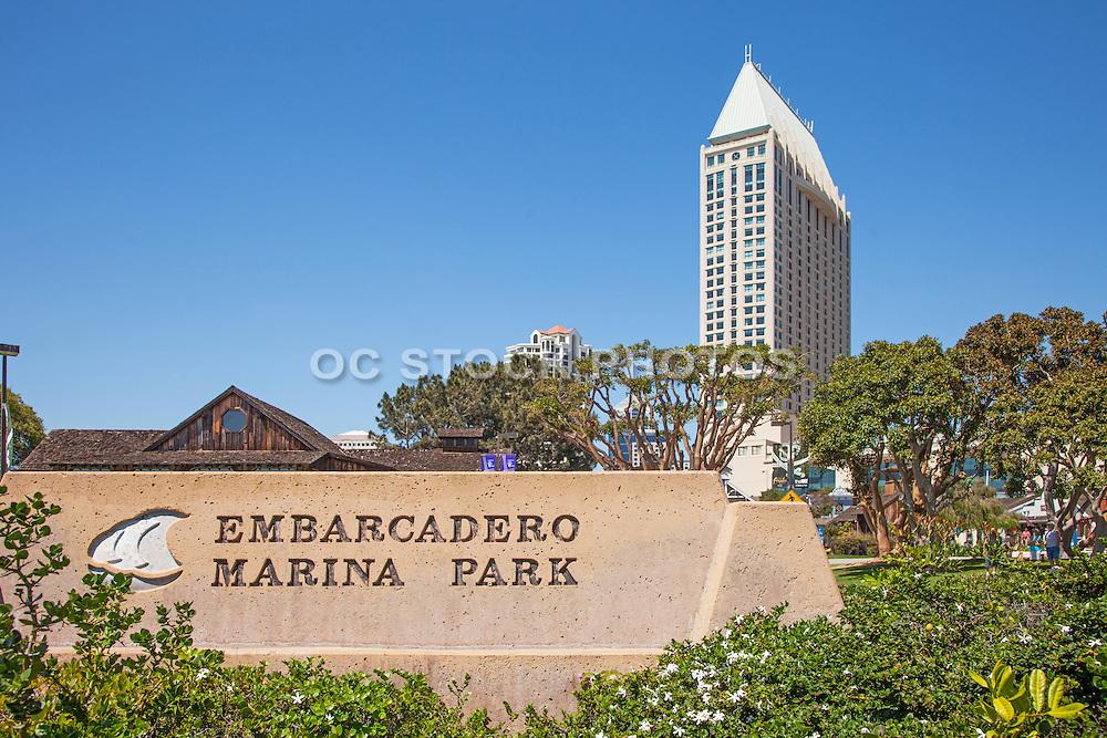 The Manchester Grand Hyatt at the Embarcadero Marina Park in San Diego