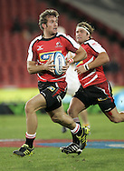 JOHANNESBURG, SOUTH AFRICA - 23 April 2011: Jaco Taute of the Lions during the Super Rugby Match between the MTN Lions and the Chiefs held at Coca Cola Park Stadium, Johannesburg, South Africa. Photo by Dominic Barnardt