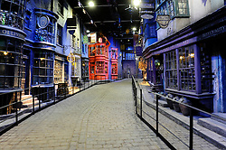 Atmosphere at Harry Potter Studio Tour, London - March 2012. Photo by Chris Joseph / i-Images.