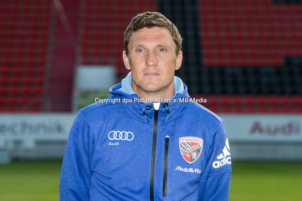 German Soccer Bundesliga 2015/16 - Photocall of FC Ingolstadt 04 on 09 July 2015 in Ingolstadt, Germany: equipment manager  Christian Gaull