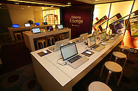 Celebrity Eclipse interior photos..Celebrity ILounge, onboard internet and apple store