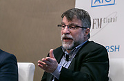 Peter Sousounis, AIR Climate Change Research at Advisen's Property Insurance Insights Conference in New York City on November 21, 2019. (Photo: www.JeffreyHolmes.com)