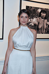 GEMMA ARTERTON at a private view of AMAZON an exhibition of photographs in aid of 'Sky Rainforest Rescue' held in the East Wing Galleries, Somerset House, London on 1st November 2011.