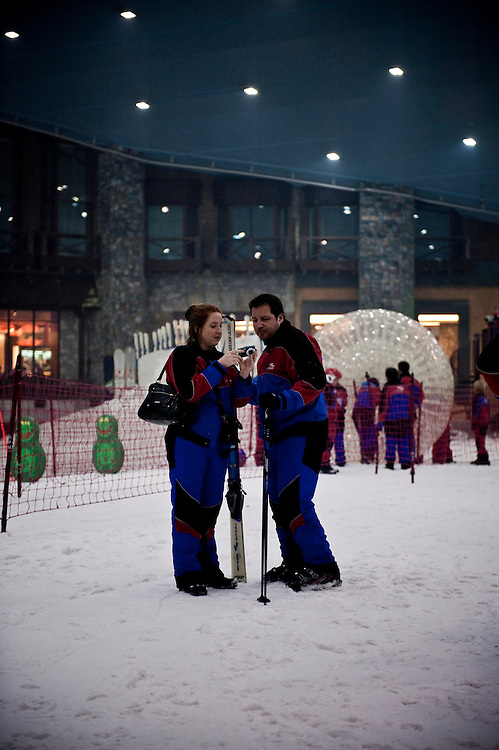 Ski Dubai, Mall of the Emirates, Dubai, UAE Archive of images of Dubai by Dubai photographer Siddharth Siva