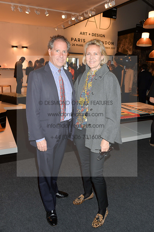 VISCOUNT LINLEY and CARLA BAMBERGER at the PAD London 10th Anniversary Collector's Preview, Berkeley Square, London on 3rd October 2016.