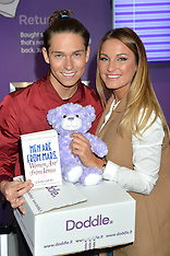 SEP 24 2014 Joey Essex and Sam Faiers launch new retailer Doddle