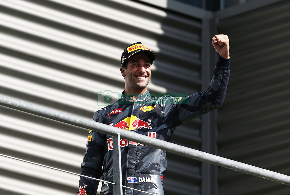 August 28, 2016 - Spa Francorchamps, Belgium - Motorsports: FIA Formula One World Championship 2016, Grand Prix of Belgium, .#3 Daniel Ricciardo (AUS, Red Bull Racing) (Credit Image: © Hoch Zwei via ZUMA Wire)