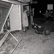 NLD/Blaricum/19911003 - Snelkraak met gestolen auto Foto Engel in Blaricum