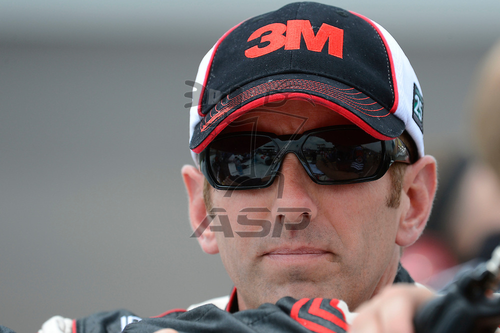 Brooklyn, MI - JUN 16, 2012:  Greg Biffle (16) during qualifying for the Quicken Loans 400 race at the Michigan International Speedway in Brooklyn, MI.