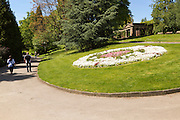 Valley Gardens park and garden, Harrogate, Yorkshire, England, UK