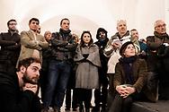 Napoli, Italia - Emma Bonino, leader di +Europa durante un comizio a Napoli.<br /> Ph. Roberto Salomone