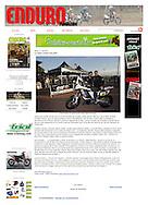 David Casteu dans Enduro Magazine.fr.