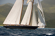 Mariette at the Antigua Classic Yacht Regatta