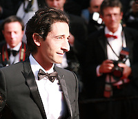 Adrien Brody at the Palme d'Or  Closing Awards Ceremony red carpet at the 67th Cannes Film Festival France. Saturday 24th May 2014 in Cannes Film Festival, France.