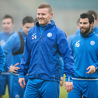 St Johnstone Training 16.12.16