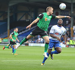 Paddy Madden of Scunthorpe United (L) in action - Mandatory by-line: Jack Phillips/JMP - 02/09/2017 - FOOTBALL - Gigg Lane - Bury, England - Bury v Scunthorpe United - English Football League One