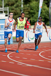 ADOLPHE Timothee, Guide FELIP Cedric, 2014 IPC European Athletics Championships, Swansea, Wales, United Kingdom