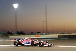 November 23, 2018 - Abu Dhabi, United Arab Emirates - Motorsports: FIA Formula One World Championship 2018, Grand Prix of Abu Dhabi, World Championship;2018;Grand Prix;Abu Dhabi, #31 Esteban Ocon (Sahara Force India F1 Team) (Credit Image: © Hoch Zwei via ZUMA Wire)