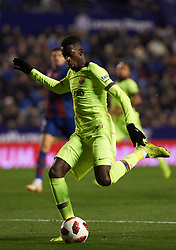 January 10, 2019 - Valencia, Valencia, Spain - Ousmane Dembele of FC Barcelona during the Spanish Copa del Rey match between Levante and Barcelona at Ciutat de Valencia Stadium on Jenuary 10, 2019 in Valencia, Spain. (Credit Image: © Maria Jose Segovia/NurPhoto via ZUMA Press)