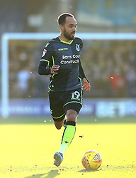 Byron Moore of Bristol Rovers - Mandatory by-line: Robbie Stephenson/JMP - 17/02/2018 - FOOTBALL - Cherry Red Records Stadium - Kingston upon Thames, England - AFC Wimbledon v Bristol Rovers - Sky Bet League One