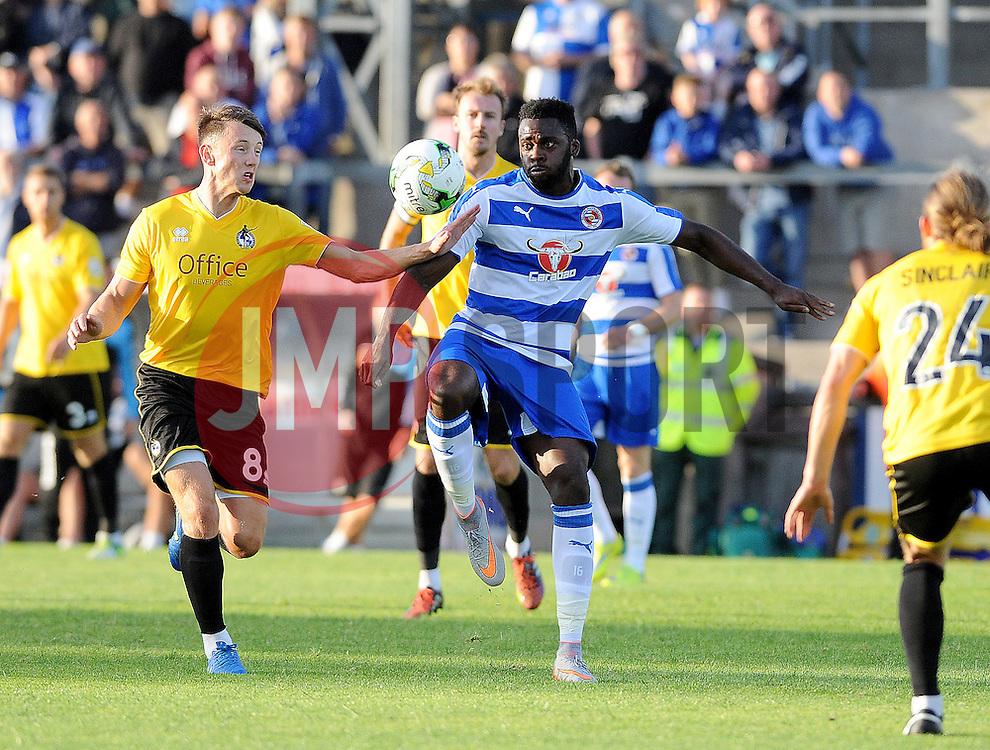 Ollie Clarke of Bristol Rovers - Mandatory by-line: Neil Brookman/JMP - 21/07/2015 - SPORT - FOOTBALL - Bristol,England - Memorial Stadium - Bristol Rovers v Reading - Pre-Season Friendly