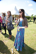 KARYS WESTCOTT; , The Dalwhinnie Crook  charity Polo match  at Longdole  Polo Club, Birdlip  hosted by the Halcyon Gallery. . 12 June 2010. -DO NOT ARCHIVE-© Copyright Photograph by Dafydd Jones. 248 Clapham Rd. London SW9 0PZ. Tel 0207 820 0771. www.dafjones.com.