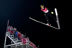 February 8, 2018 - Pyeongchang, SOUTH KOREA - 180208 Andreas Stjernen of Norway during the Men's Normal Hill Individual Qualification Trial ahead of the 2018 Winter Olympics on February 8, 2018 in Pyeongchang..Photo: Jon Olav Nesvold / BILDBYRN / kod JE / 160146 (Credit Image: © Jon Olav Nesvold/Bildbyran via ZUMA Press)