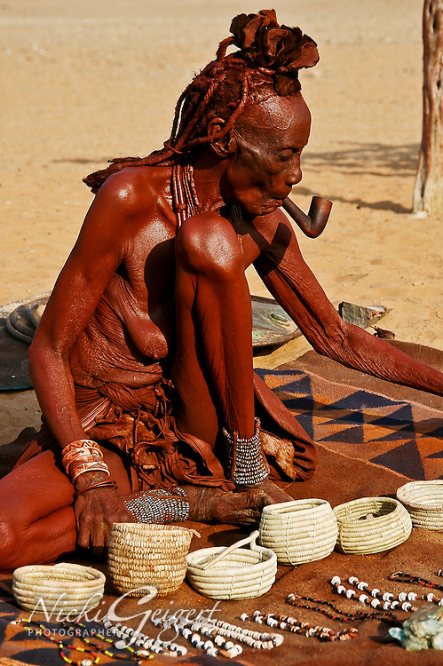 People, Namibia, Himba People.<br /> DSC2594