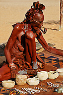 People, Namibia, Himba People.<br />