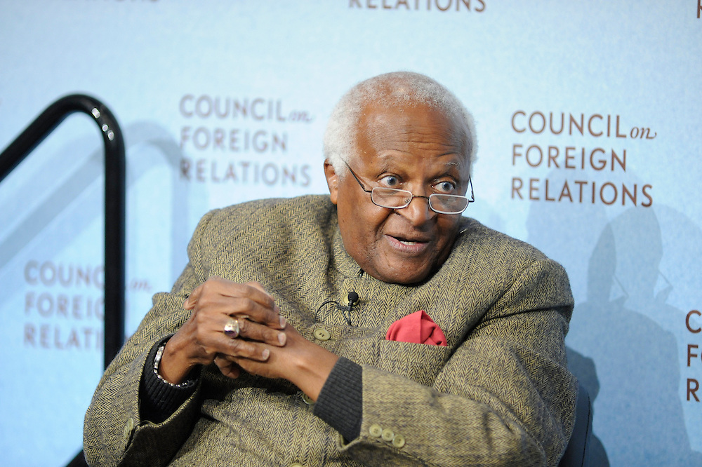 A Conversation with Desmond Tutu..Desmond Tutu.Peggy Dulany