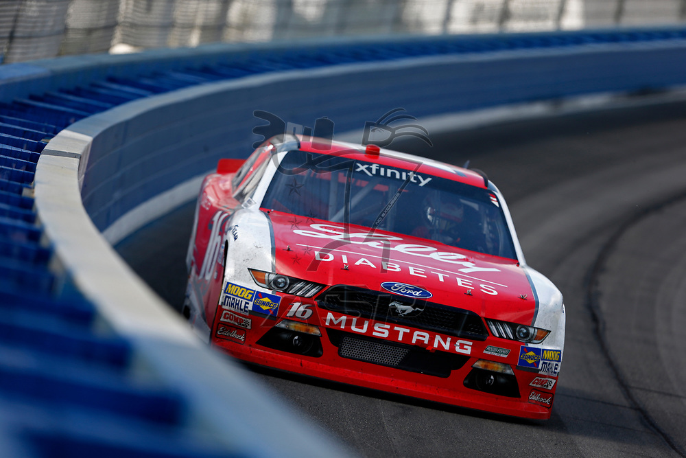 March 25, 2017 - Fontana, California, USA: Ryan Reed (16) battles for position during the NASCAR Xfinity Series NXS 300 at Auto Club Speedway in Fontana, California.