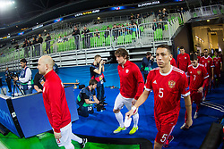 Romulo of Russia during futsal match between Poland and Russia at Day 1 of UEFA Futsal EURO 2018, on January 30, 2018 in Arena Stozice, Ljubljana, Slovenia. Photo by Ziga Zupan / Sportida