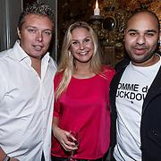 "NLD/Zeist/20131103 - CD presentatie Gordon "" Liefde overwint alles "", Tony Wyczynski en partner Yildiz Siskens en dj Sidney Samson"