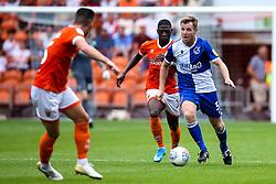 Tony Craig of Bristol Rovers goes past Sullay Kaikai of Blackpool - Mandatory by-line: Robbie Stephenson/JMP - 03/08/2019 - FOOTBALL - Bloomfield Road - Blackpool, England - Blackpool v Bristol Rovers - Sky Bet League One