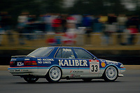 #33 Gary Ayles Kaliber ICS Team Toyota Toyota Carina during Round 1of the 1991 British Touring Car Championship at Silverstone, Towcester, Northamptonshire, United Kingdom. 1st April 1991, World Copyright Peter Taylor/PSP. Copy of publication required for printed pictures.