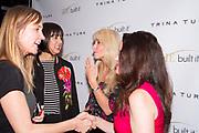 Guest, Trina Turk, Victoria Cushey, and guest