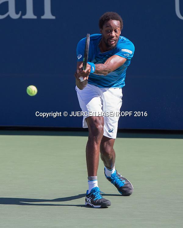 GAEL MONFILS (FRA)<br /> <br /> Tennis - US Open 2016 - Grand Slam ITF / ATP / WTA -  Flushing Meadows - New York - New York - USA  - 29 August 2016.