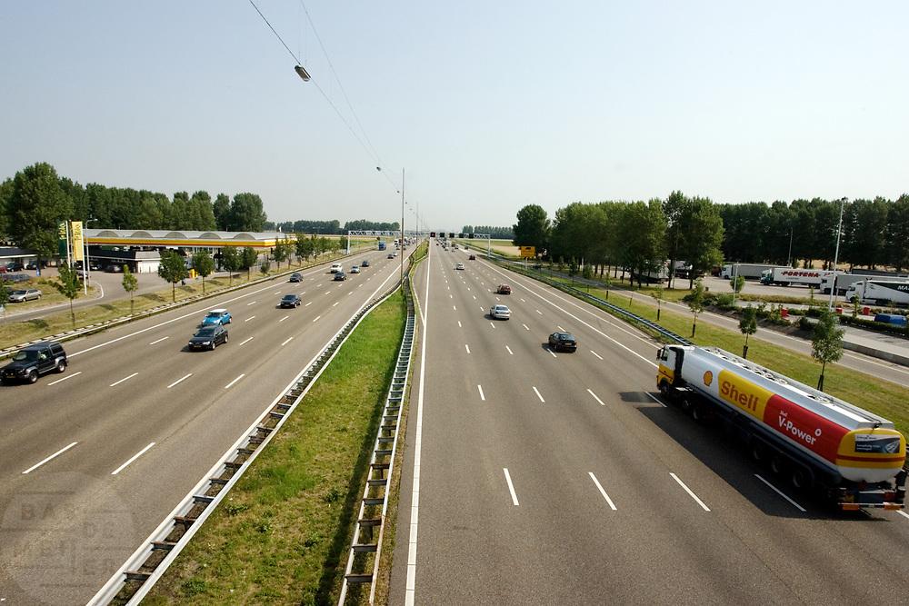 De A4 bij Hoofddorp